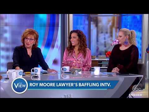 """Roy Moore Attorney On Ali Velshi's """"Background""""   The View"""