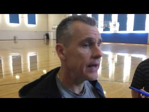 Donovan: Shootaround in Los Angeles - March 2, 2016