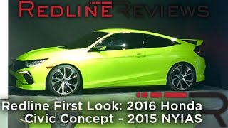 Honda Civic Concept 2015 Videos