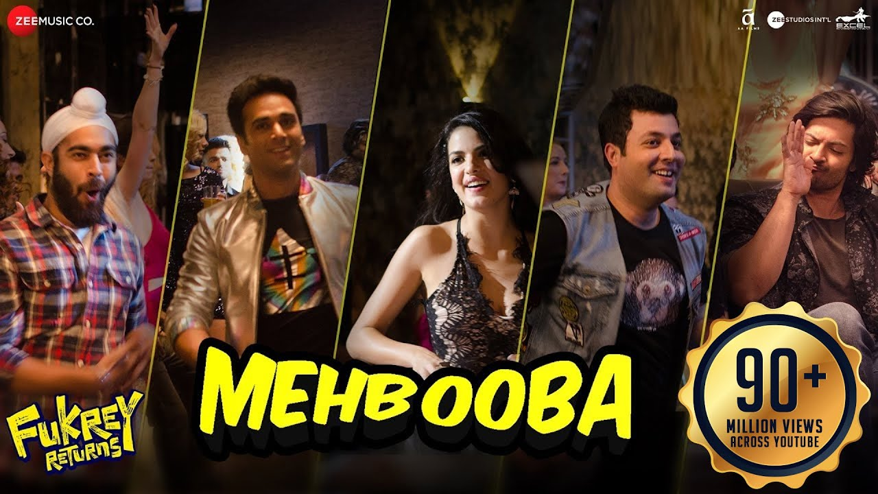 Download Mehbooba | Fukrey Returns |Prem&Hardeep | Mohammed Rafi, Neha Kakkar, Raftaar & Yasser Desai