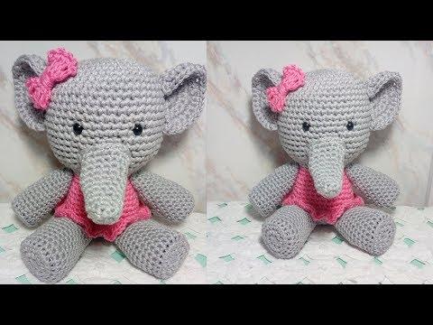 Crochet Amigurumi Elephant Pattern ( English only ) | Amigurumi ... | 360x480