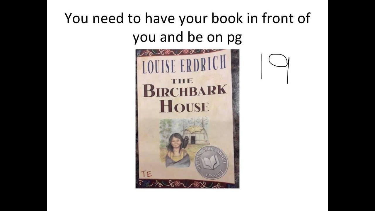 The Birchbark House - Chapter Two - YouTube