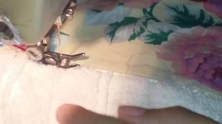 Jogo de Banho com detalhe em tecido frisado