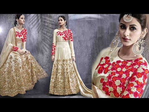 image of Anarkali suits youtube video 1