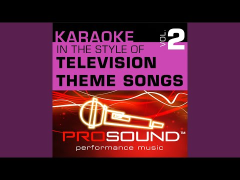 The Love Boat (Karaoke Instrumental Track) (In the style of Theme Song)