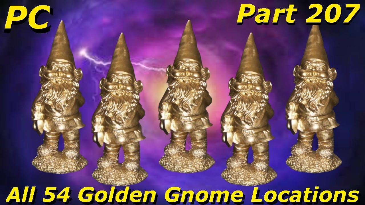 Plants vs Zombies Garden Warfare 2 - All 54 Golden Gnome Locations  Walkthrough Guide - Part 207