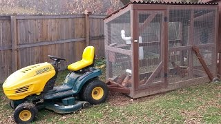 Chicken Tractor - Construction Of The Original Lawn Mower - 2