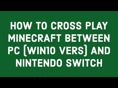 minecraft switch cross play lan
