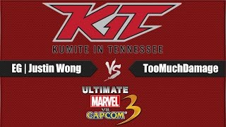 WONG FACTOR ACTIVATED AT KIT- EG | Justin Wong vs TooMuchDamage (UMVC3) WINNERS FINALS