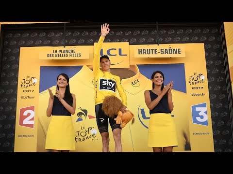 Tour de France: Chris Froome takes yellow after stage five