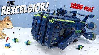 The Lego Movie 2 The Rexcelsior! Ship Speed Build 70839