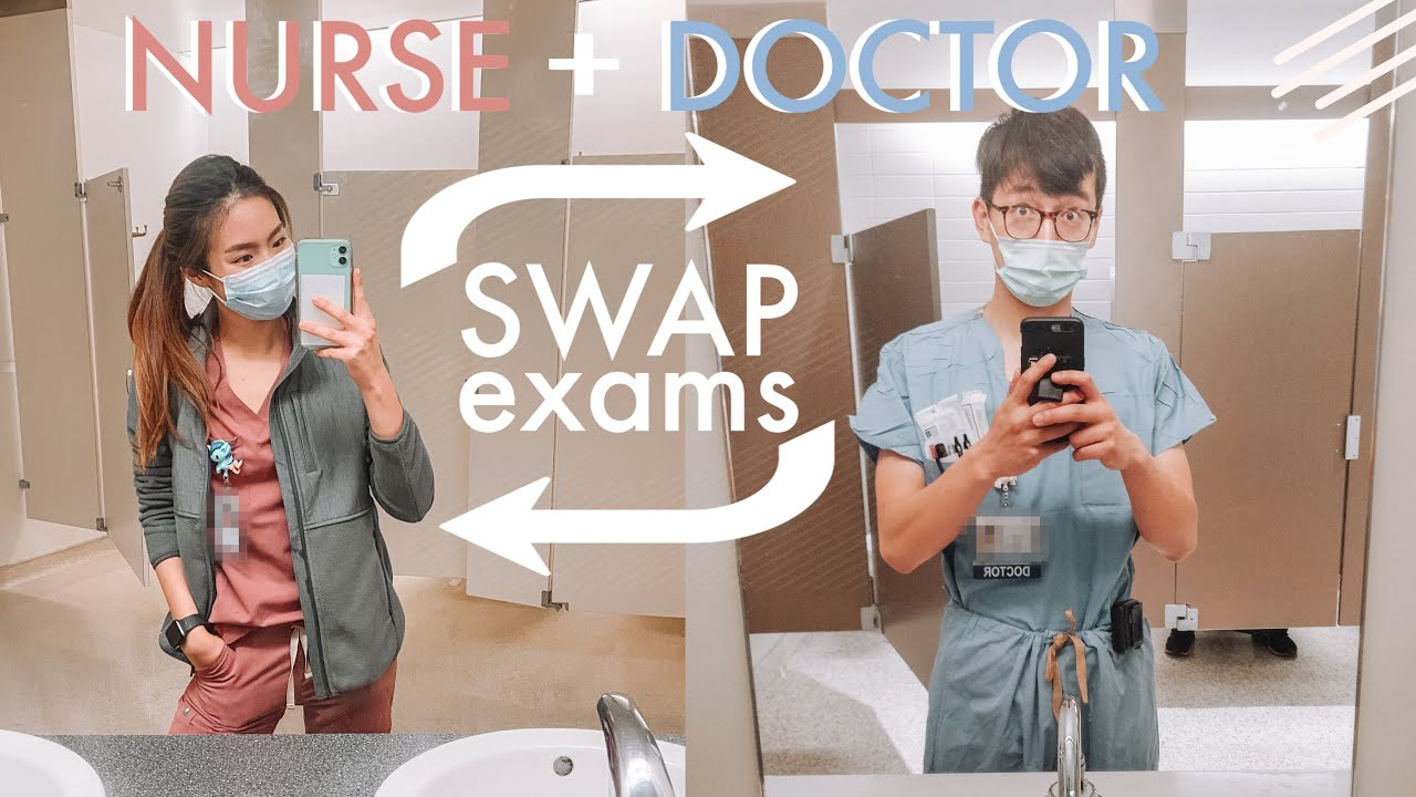 Doctor and Nurse exchange exams | STEP 1 vs. NCLEX