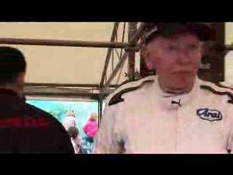Goodwood Festival of Speed 2007: with former F1 Honda driver Sir John Surtees