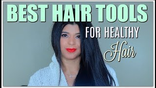 BEST Hair Tools for Healthy Hair | Waves/ Straight/wavy| Irresistible Me