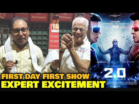 2.0 Movie FIRST DAY FIRST SHOW Excitement | Rajinikanth Sir, Akshay Kumar | Buys 50 Tickets