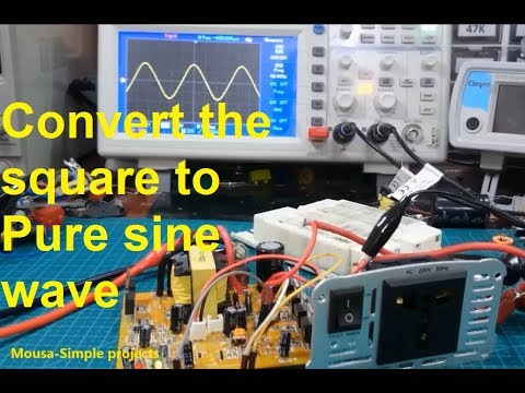 How to convert a Modified /Square wave inverter to Pure Sine