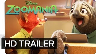 ZOOMANIA - Offizieller Trailer (German | deutsch) - Ab 03.03.2016 im Kino - Disney HD