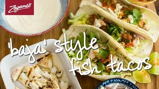 Zagame's At Home // Baja Style Fish Tacos