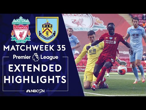 Liverpool v. Burnley | PREMIER LEAGUE HIGHLIGHTS | 7/11/2020 | NBC Sports