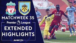 Liverpool v. Burnley   PREMIER LEAGUE HIGHLIGHTS   7/11/2020   NBC Sports