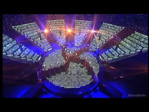HD~ 4000 YEARS OF GREEK SONG ★ Interval Act  Final ~  ESC 2006 ATHENS