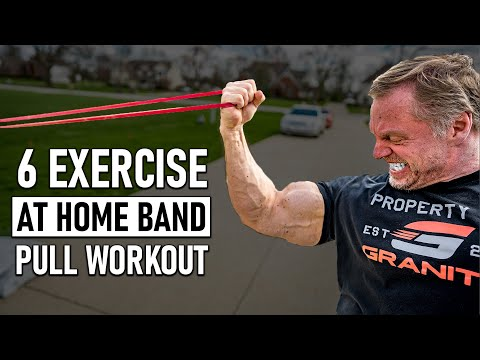 *INSANE* 6 Exercise At Home Pull Workout (CRAZY BURN)