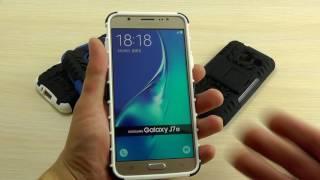 ОБЗОР: Противоударный Чехол-Накладка для Samsung Galaxy J1 mini Nxt (J105) 2016 года с Подставкой