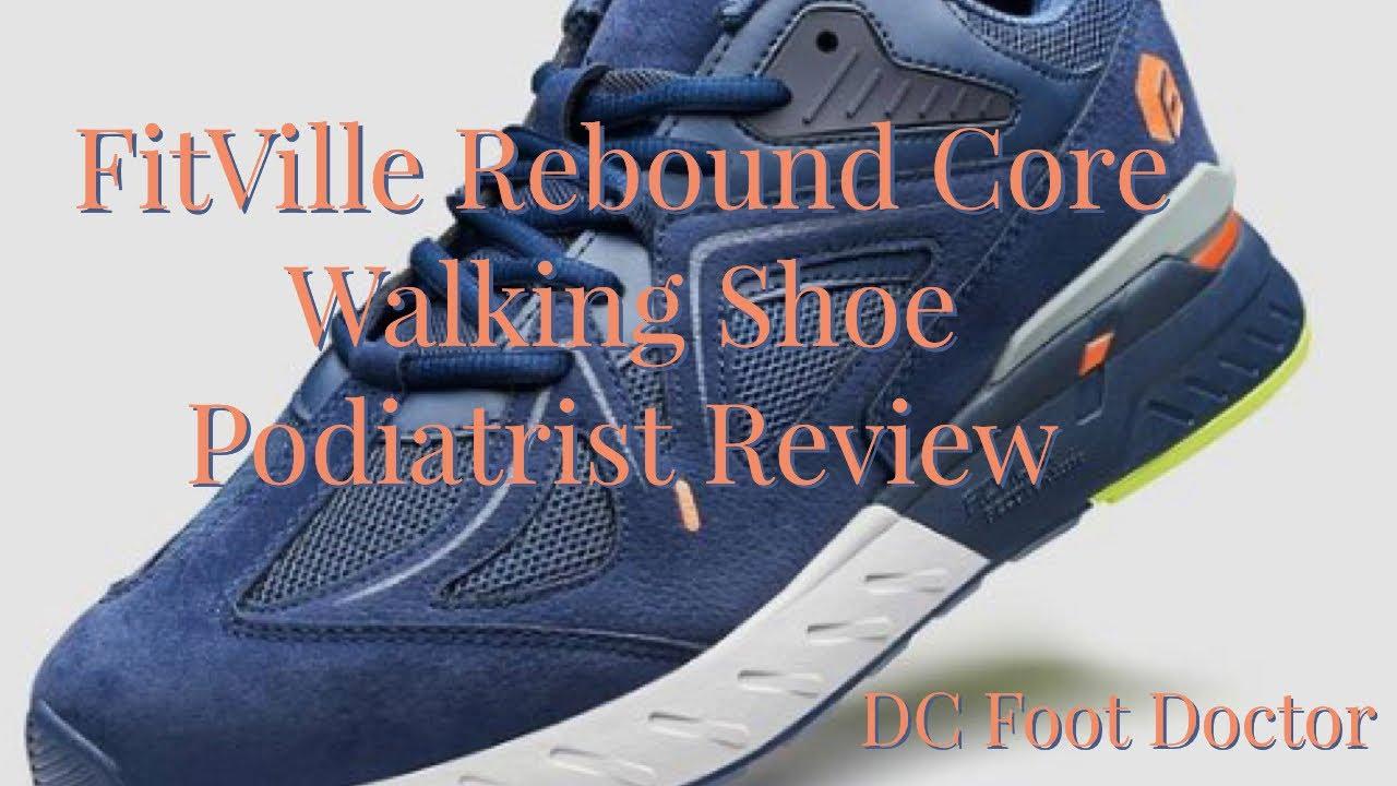 FitVille Rebound Core Walking Shoe - Podiatrist Review