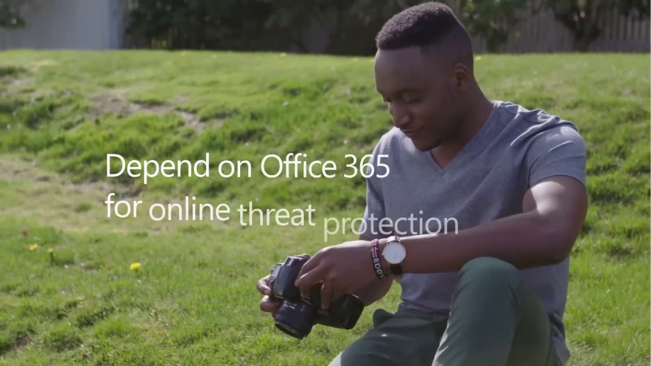 Depend on Office 365 for online threat protection