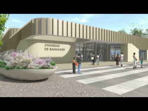 Architectural Animation Sports Center, Etten Leur, Netherlands. by 3D Partners