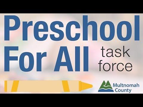 Preschool For All