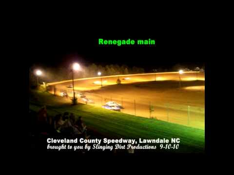Renegade main 9-10-10 Cleveland County Speedway