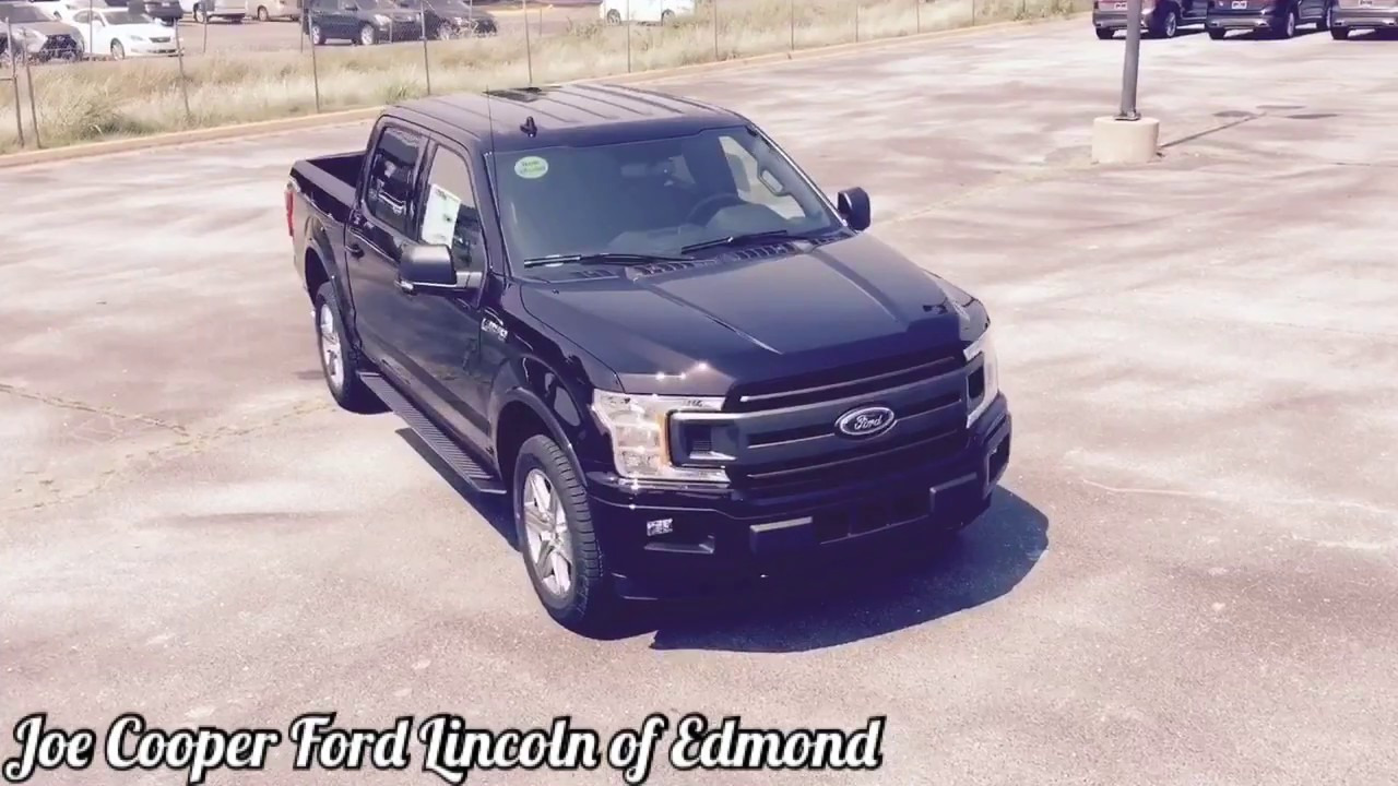 Joe Cooper Ford Edmond >> New Arrival 2018 Ford F 150 Xlt Joe Cooper Ford Edmond Youtube