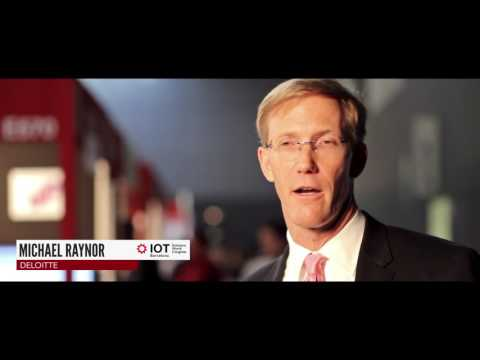 Interview with Michael Raynor (Deloitte) - IOTSWC 2015