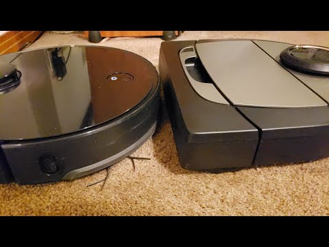 Roborock S4 vs. Neato D7 - Vacuuming Test on Tile