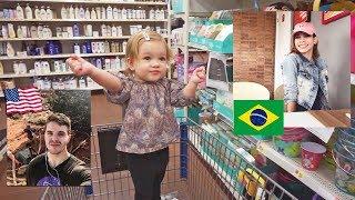COMPRANDO COISAS PARA A CHEGADA DA MINHA IRMÃ NOS EUA!