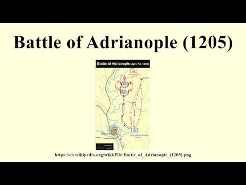 Battle of Adrianople (1205)