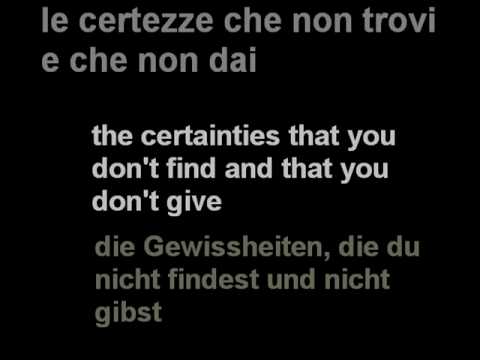 Nek- Se Non Ami -with lyrics
