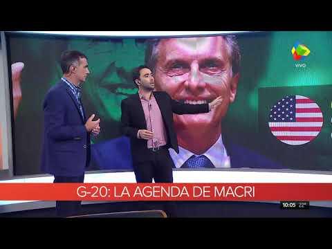 Cumbre del G-20: Esta es la agenda de Mauricio Macri