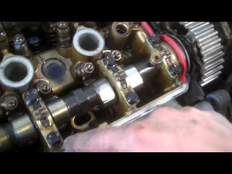 Cylinder head replacement 1997-2001 Honda CR-V  DOHC Removal replace