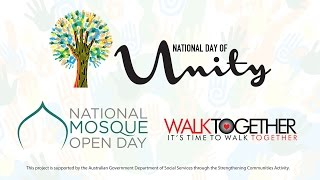 National Day of Unity Launch 2015 - Join us October 31, 2015