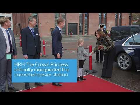 HRH The Crown Princess inaugurates Skærbæk Power Station