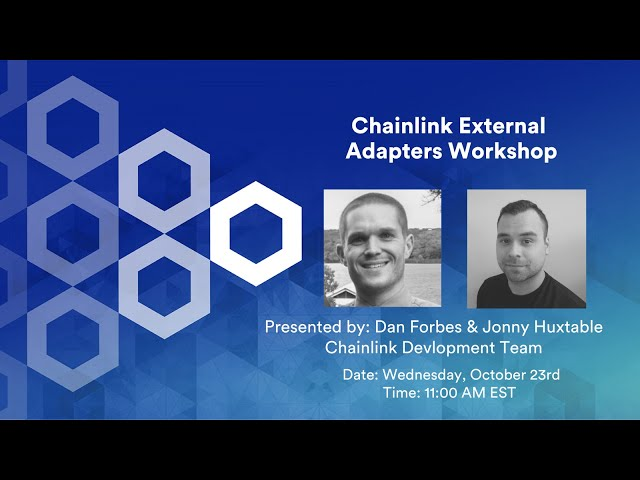 External Adapters Workshop - Chainlink Virtual Hackathon 2019