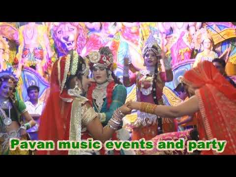 Radha Krishna Jhanki Shyam Aaya Re Ghanshyam Aaya Re  Pawan Brijwasi group my contact.📞9690529337