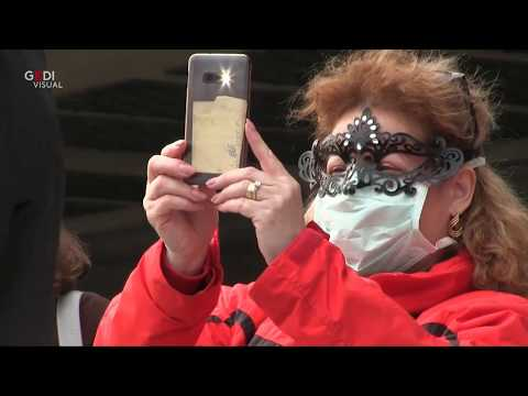 Coronavirus, maschere e mascherine: stop al Carnevale di Venezia