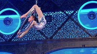 видео воздушная гимнастика