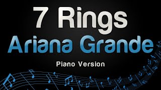 Ariana Grande - 7 rings (Piano Version)