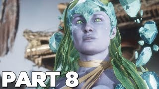 MORTAL KOMBAT 11 STORY MODE Walkthrough Gameplay Part 8 - JAX (MK11)