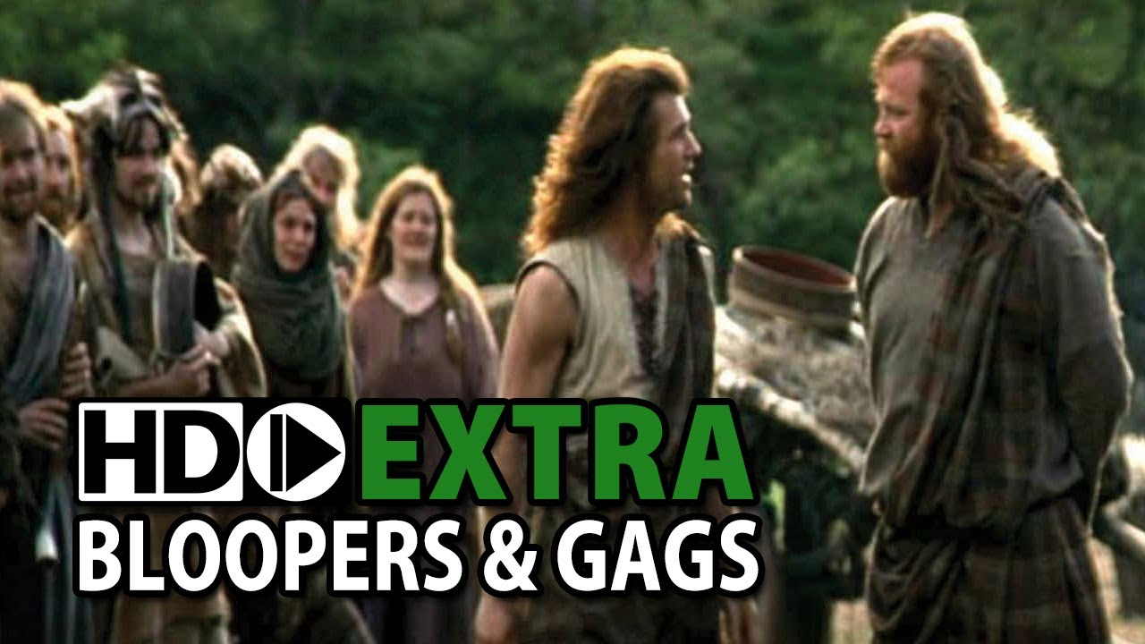 Braveheart 1995 Bloopers Outtakes Gag Reel Youtube