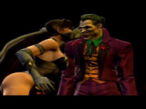 Mortal Kombat VS DC Universe - All Character Finishing Moves On The Joker